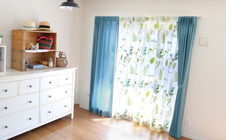 【最短6営業日で出荷】オパールレースカーテン「Teresa テレサ」  幅〜200cm×丈〜140cm