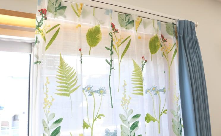 【最短6営業日で出荷】オパールレースカーテン「Teresa テレサ」  幅〜200cm×丈〜200cm