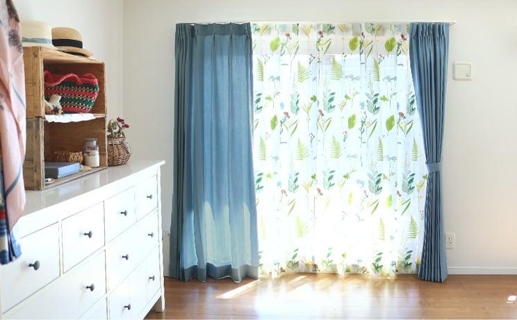 【最短6営業日で出荷】オパールレースカーテン「Teresa テレサ」  幅〜200cm×丈〜260cm