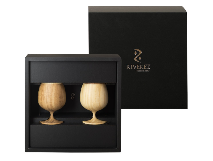 【10時までのご注文で当日出荷】木製グラス リヴェレット RIVERET ブランデーベッセル <ペア> セット