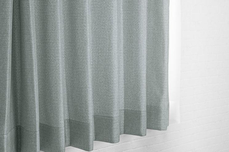 【最短6営業日で出荷】非遮光カーテン「Fiore フィオレ グレー」幅〜100cm×丈〜200cm
