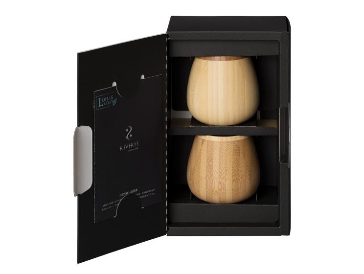 【10時までのご注文で当日出荷】木製グラス リヴェレット ロッキングベッセル RIVERET <ペア> セット