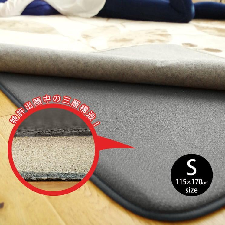 ラグ専用下敷き ふかピタ Sサイズ 115×170cm スミノエ SUMINOE