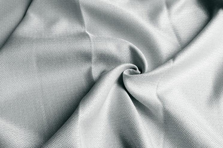 【最短6営業日で出荷】非遮光カーテン「Fiore フィオレ グレー」幅〜300cm×丈〜140cm