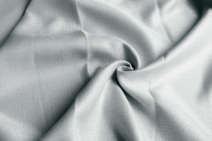 【最短6営業日で出荷】非遮光カーテン「Fiore フィオレ グレー」幅〜300cm×丈〜260cm