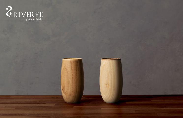 木製グラス リヴェレット RIVERET タンブラーコクーン <単品>