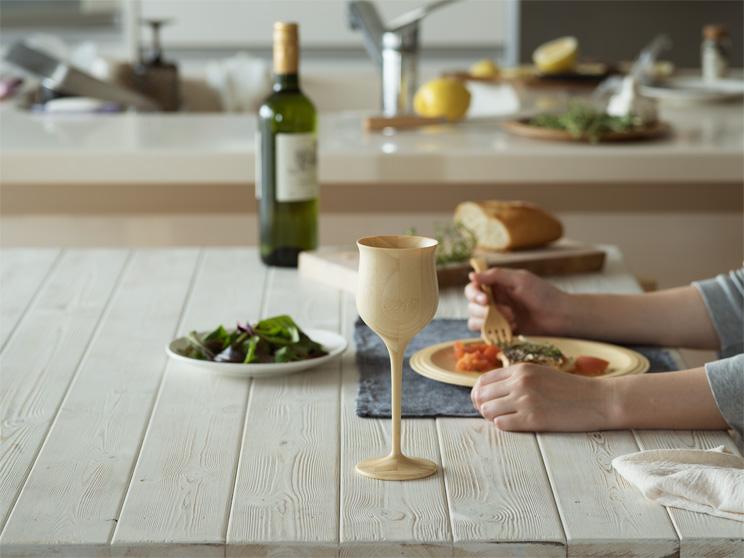 名入れ 木製ワイングラス リヴェレット ワインベッセル RIVERET <ペア> セット
