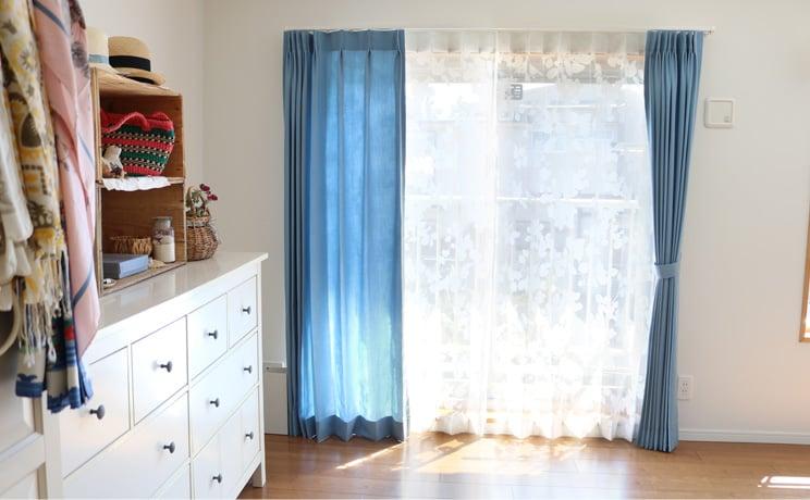 【最短6営業日で出荷】オパールレースカーテン「Dorris ドリス ホワイト」  幅〜100cm×丈〜140cm