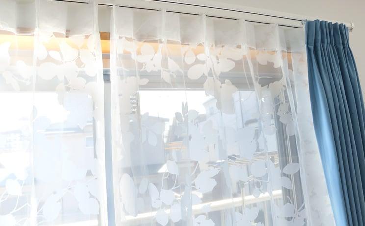 【最短6営業日で出荷】オパールレースカーテン「Dorris ドリス ホワイト」  幅〜100cm×丈〜260cm