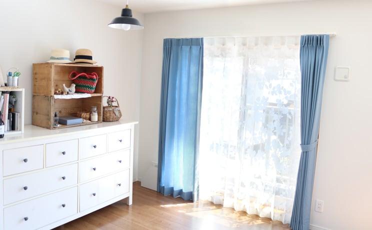 【最短6営業日で出荷】オパールレースカーテン「Dorris ドリス ホワイト」  幅〜200cm×丈〜140cm