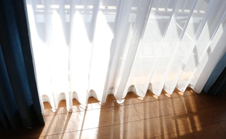 【最短6営業日で出荷】ボイルレースカーテン「Rothy ルーシー」  幅〜100cm×丈〜140cm