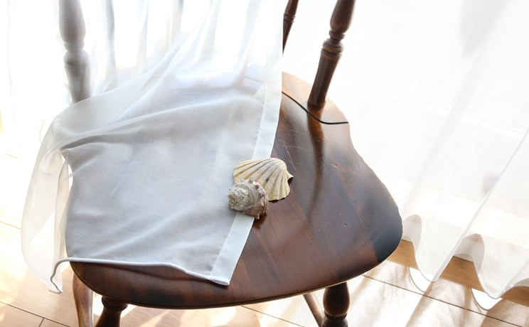 【最短6営業日で出荷】ボイルレースカーテン「Rothy ルーシー」  幅〜200cm×丈〜140cm