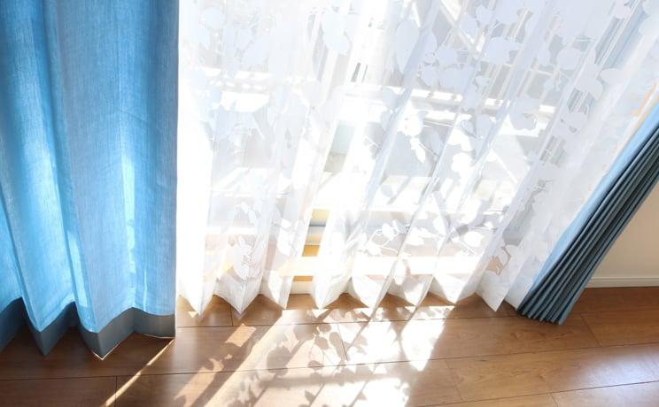 オパールレースカーテン「Dorris ドリス ホワイト」  生地サンプル ※1種類につき1枚まで、計5枚まで