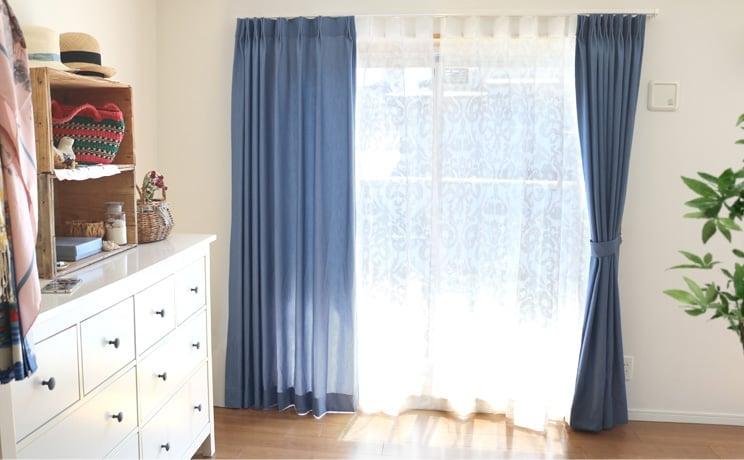 【最短6営業日で出荷】オパールレースカーテン「Shirley シャーリー ホワイト」  幅〜100cm×丈〜140cm
