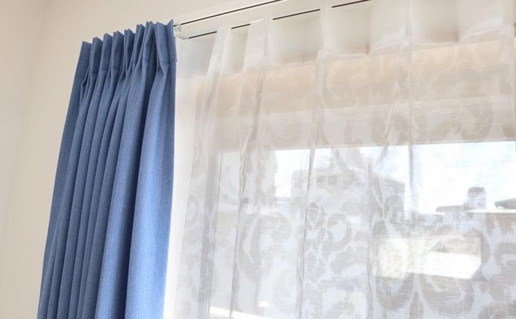 【最短6営業日で出荷】オパールレースカーテン「Shirley シャーリー ホワイト」  幅〜100cm×丈〜200cm