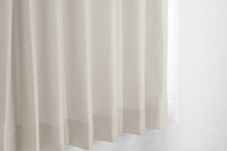 【最短6営業日で出荷】非遮光カーテン「Fiore フィオレ アイボリー」幅〜300cm×丈〜200cm