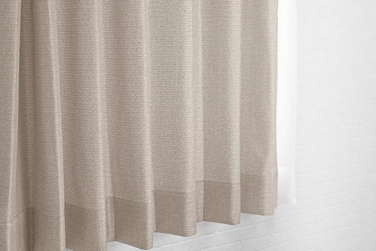 【最短6営業日で出荷】非遮光カーテン「Fiore フィオレ ベージュ」幅〜100cm×丈〜260cm