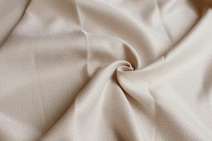 非遮光カーテン「Fiore フィオレ ベージュ」生地サンプル ※1種類につき1枚まで、計5枚まで