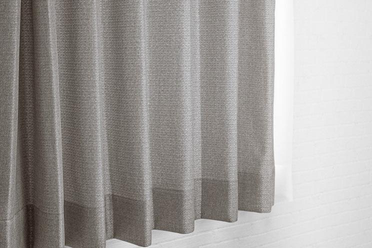 【最短6営業日で出荷】非遮光カーテン「Fiore フィオレ ブラウン」幅〜100cm×丈〜200cm