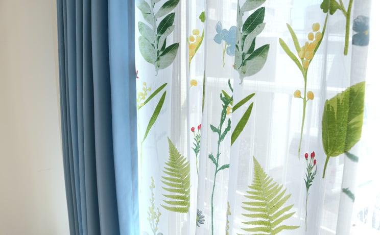 【最短6営業日で出荷】オパールレースカーテン「Teresa テレサ」  幅〜100cm×丈〜140cm