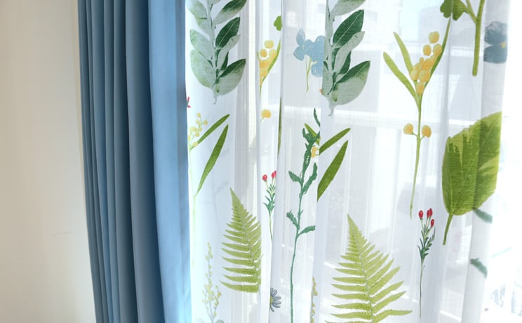【最短6営業日で出荷】オパールレースカーテン「Teresa テレサ」  幅〜100cm×丈〜200cm