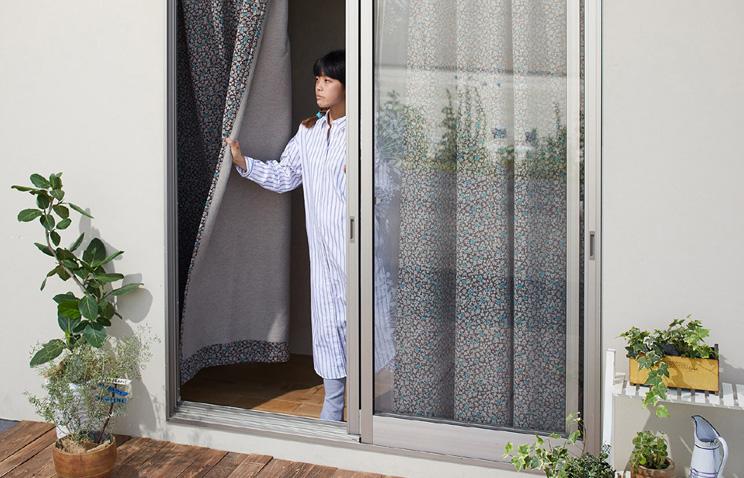 1級遮光カーテン スミノエ デザインライフ 「SIFFLET シフレ ベージュ×ブラウン」 生地サンプル ※1種類につき1枚まで、計5枚まで