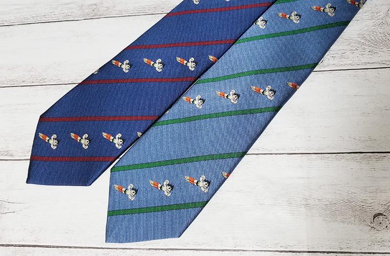 鉄腕アトム 西陣織ネクタイ フライング ブルー