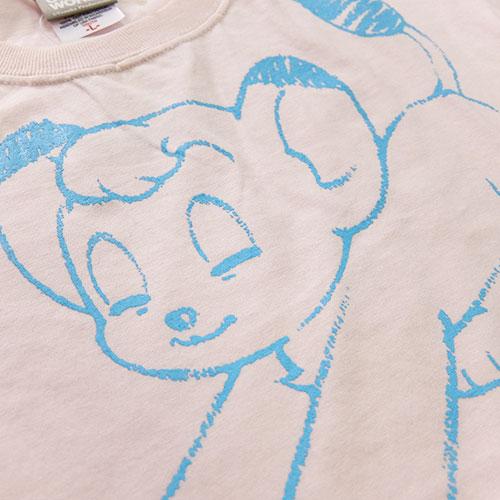 ジャングル大帝Tシャツ1(ライトピンク)