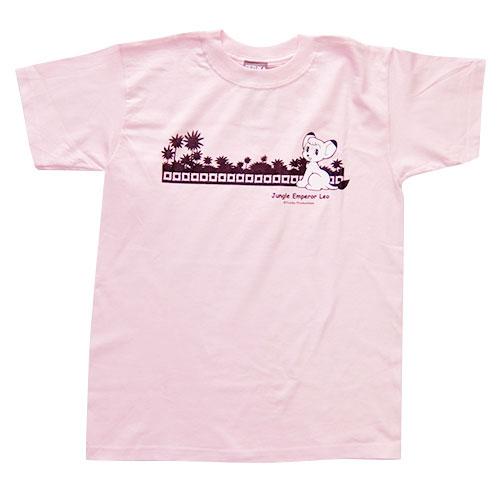 ジャングル大帝Tシャツ2(ライトピンク)