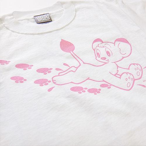 ジャングル大帝Tシャツ3(ホワイト)