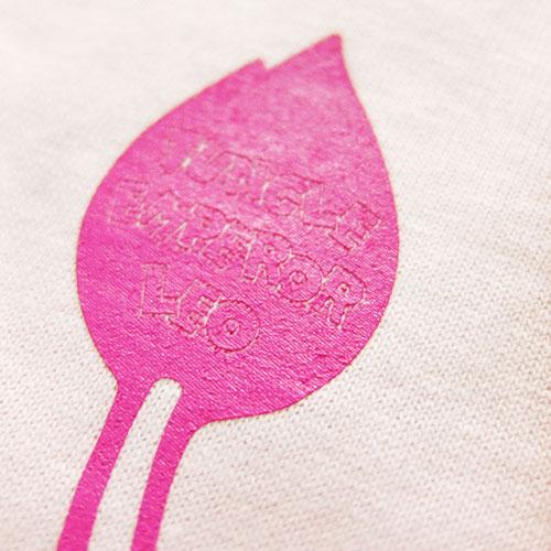ジャングル大帝Tシャツ3(ライトピンク)