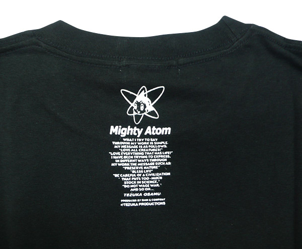 アトム Tシャツ メカニック2003(ブラック)ジュニア