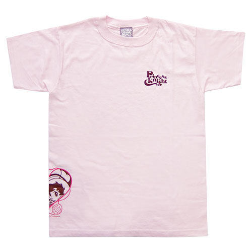 リボンの騎士Tシャツ3(ライトピンク)