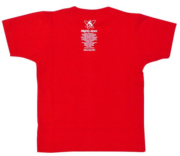 アトム Tシャツ メカニック2003(レッド)ジュニア【10営業日以内に出荷】