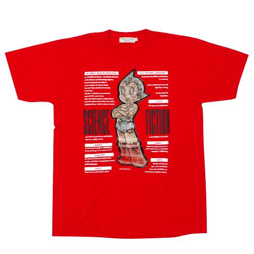 アトム Tシャツ メカニック2003(レッド)【10営業日以内に出荷】