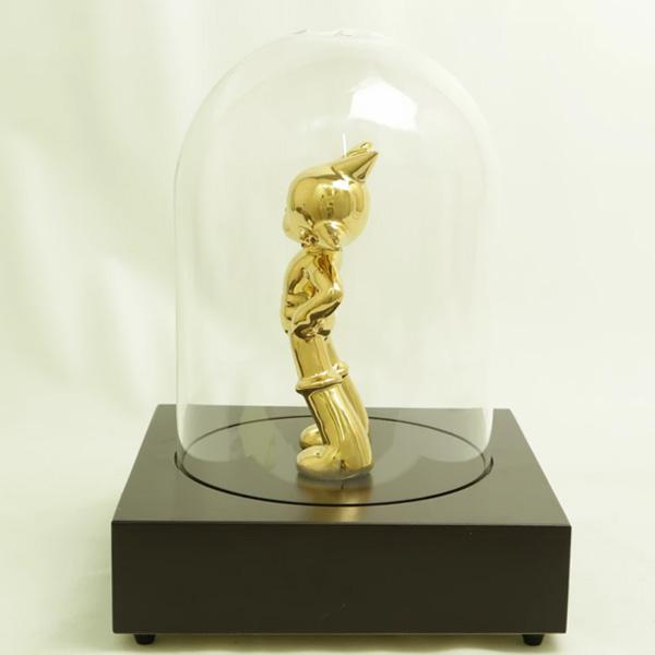 アトムデビュー70周年記念 高級磁器人形 <ゴールド塗装 限定 500個>