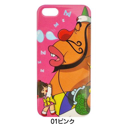 iPhone5用カバー 手塚プロ×タツノコプロ ハクション大魔王×ピノコ