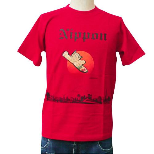 アトム Tシャツ Nippon(レッド)