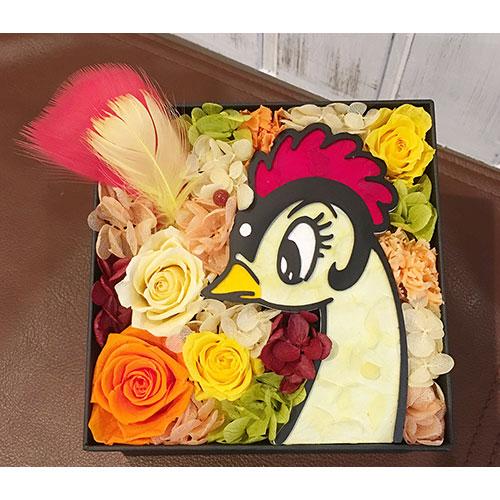 【受注生産】BOXフラワー(火の鳥)