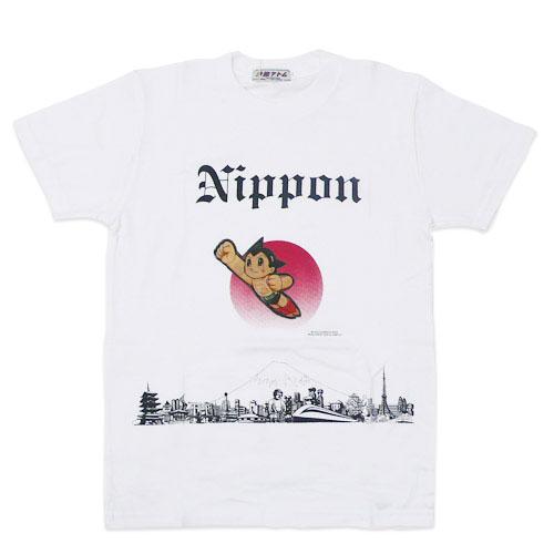 アトム Tシャツ Nippon(ホワイト)