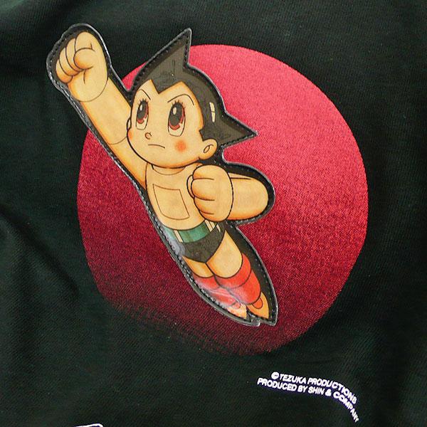 アトム Tシャツ Nippon(ブラック)