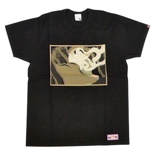 どろろ Tシャツ 布を解く万代(BLACK)