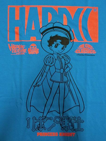 Tシャツ リボンの騎士(サファイア・ターコイズブルー)