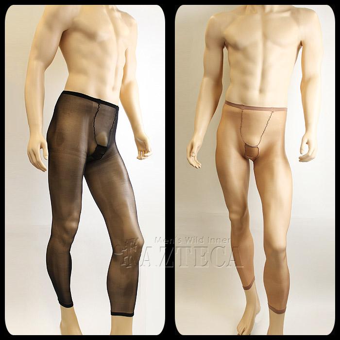 男性用 ストッキング メンズ パンスト 極薄のレギンスタイプ 10デニール◆DY-0338【ゆうパケット可】