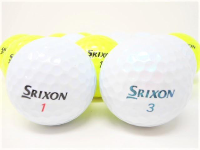 スリクソン Z-STAR シリーズ 2021年 モデル Aランク ロストボール ゴルフボール Z-STAR Z-STARXV 【中古】 【1球】