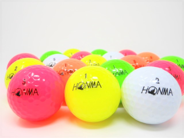 【値下げ!】 ホンマ D1 2018年 モデル ロストボール 特Aランク ゴルフボール 【中古】【1球】