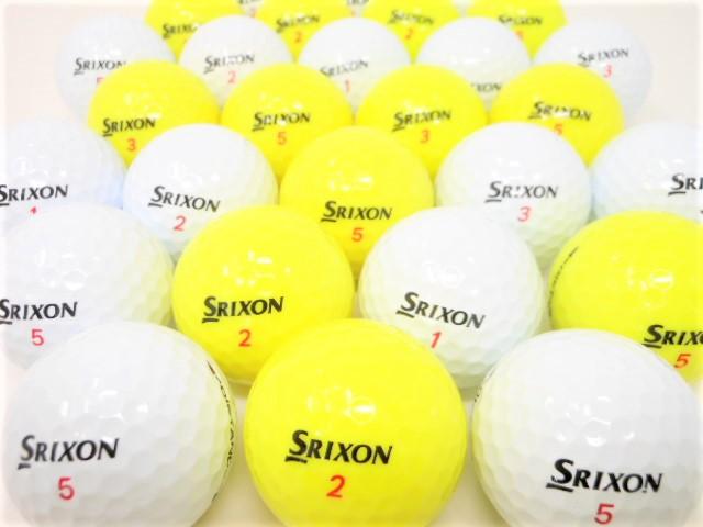 スリクソン DISTANCE 【20球パック】 特Aランク 【送料無料】 ディスタンス ロストボール ゴルフボール 【中古】