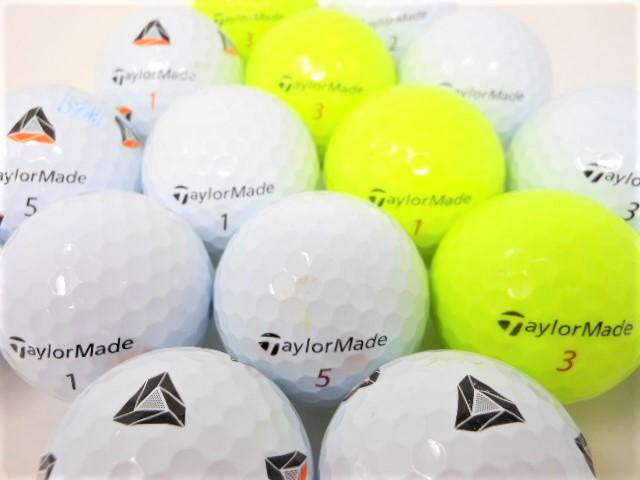 テーラーメイド TP5 シリーズ 2021年 モデル Bランク ロストボール ゴルフボール 【中古】【1球】