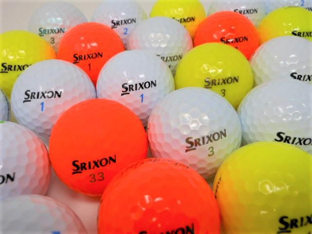 【送料無料】 スリクソン 限定 【20球パック】 特A・Aランク混合  ロストボール ゴルフボール 【中古】