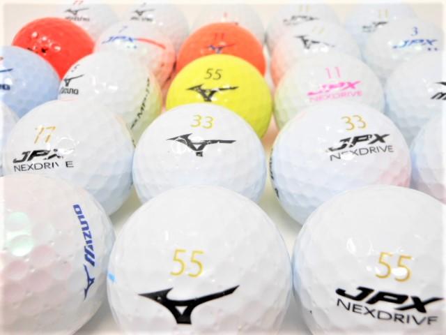 【送料無料】 ミズノ 限定 30球  ロストボール Bランク ゴルフボール 【中古】